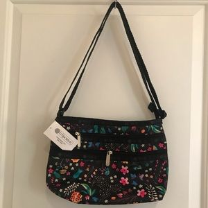 LeSportsac Quinn Crossbody in Sweetest Print